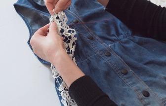 舊衣服改造:DIY寬松點的連衣裙