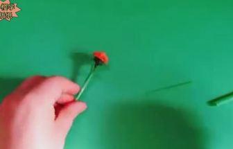 怎么利用飲料吸管做四季菊花