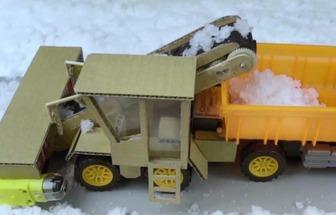 變廢成寶打造DIY電動除雪車