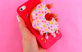 自己DIY4款超可愛的手機殼