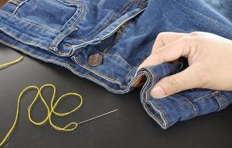 一招教你款式褲子完美收褲腰