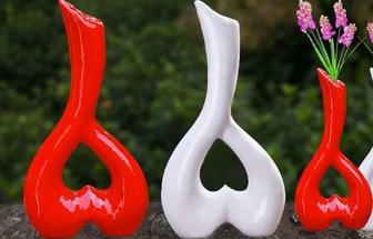 泡沫廢棄物手工DIY好看的花瓶