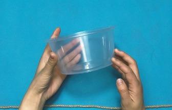 外賣快餐飯盒DIY田園風收納盒
