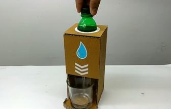 如何用瓶子來制作一個水分流器