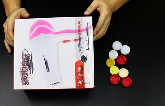 用紙盒制作實用的卡蛋槽
