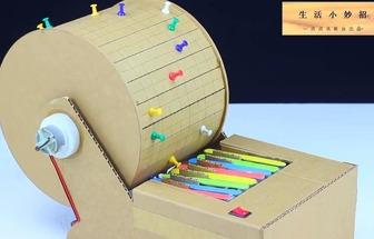 科技型小發明:DIY小型滾筒鋼琴音樂機