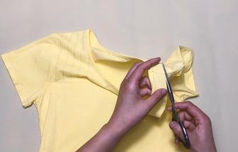 舊衣服改造:T恤DIY流行夏裝