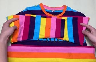 舊衣服改造:再利用制作兒童秋褲