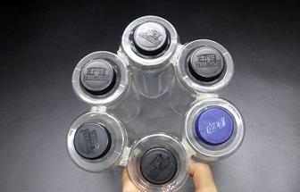 用塑料瓶制作可以瀝水的筷子筒