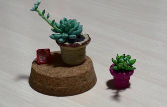 創意手工DIY多肉植物