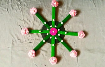 如何制作創意十足墻面掛飾的方法