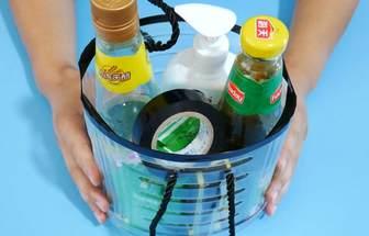 空油桶改造一下做家用收納筒