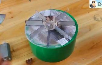 用塑料瓶子制作旋風吸塵器
