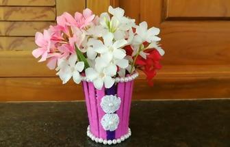 如何快速的制作一個簡易花瓶