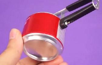 利用易拉罐制作迷你高壓鍋