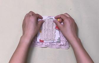 多余布料改改做手縫雪紡吊帶裙