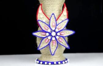 廢棄塑料瓶DIY好看的花瓶擺件