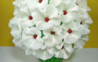 廢塑料瓶制作好看的花藝擺件