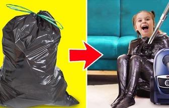 塑料袋妙用創意手工DIY方法