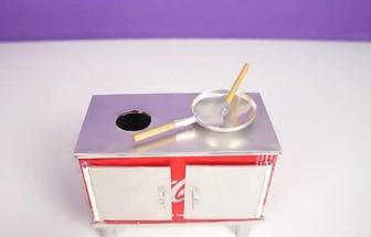 如何用易拉罐制作一個迷你爐灶