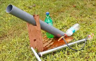自制簡易水動力加農炮