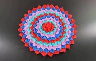 手工縫制DIY漂亮的家居地墊