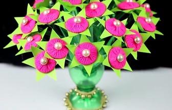 教你動手制作簡單好看的永生花盆栽