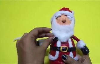 怎么用廢紙打造漂亮的圣誕老人玩偶