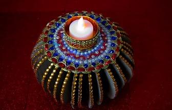 制作一個神秘的印度風格燭臺