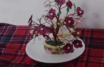 DIY美輪美奐的指甲油花盆栽