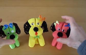 怎么折疊毛巾做出漂亮的玩具狗