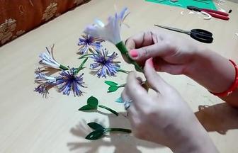 用一次性紙杯DIY美麗花束