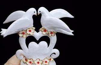泡沫塑料DIY情人節表白禮物