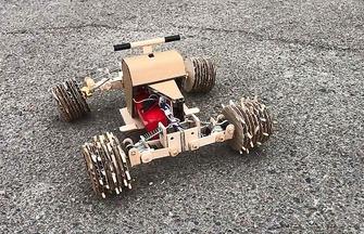 DIY電動玩具迷你電動四驅車