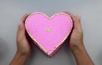做一個漂亮的愛心盒子