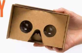 教你怎么用硬紙板DIY制作VR眼鏡