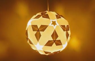 教你手工DIY星光燦爛折紙螢火星球