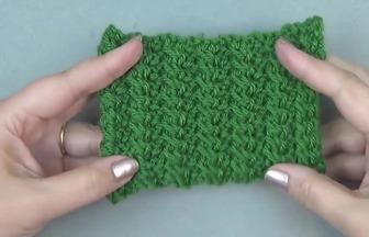 手工編織:簡單柱子花的織法教程