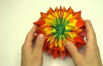 教你用折紙DIY魔術幻星