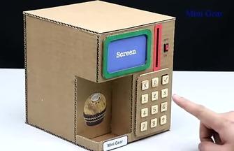全手工制作過年紅包密碼保險柜