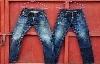 舊牛仔褲簡單改一改,成品即時尚還收腰