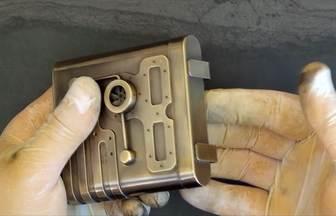 手工制作蒸汽朋克的銅煙盒全過程