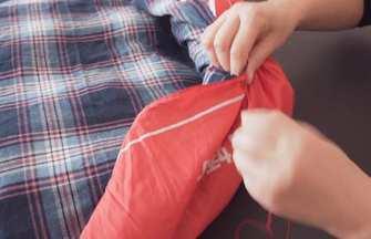 舊雨傘不要扔!傘布拆下畫1個圓,成品放在家太實用