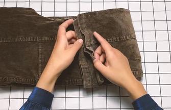 不穿的條絨褲快找出來,這個改造不學虧大了