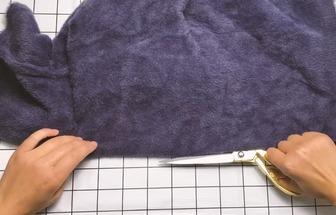 過時毛衣對折剪一刀秒變時尚新款