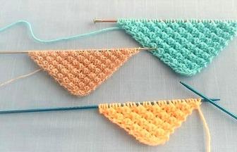 毛線編織教程,傳統豆點圖案的編織方法