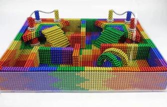 如何搭建一個可愛的巴克球水池模型