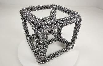 手工玩具DIY,巴克球磁力立方體的拼裝方法